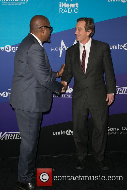 Forest Whitaker and Robert F. Kennedy Jr. 2