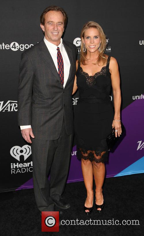 Robert F. Kennedy Jr and Cheryl Hines 9