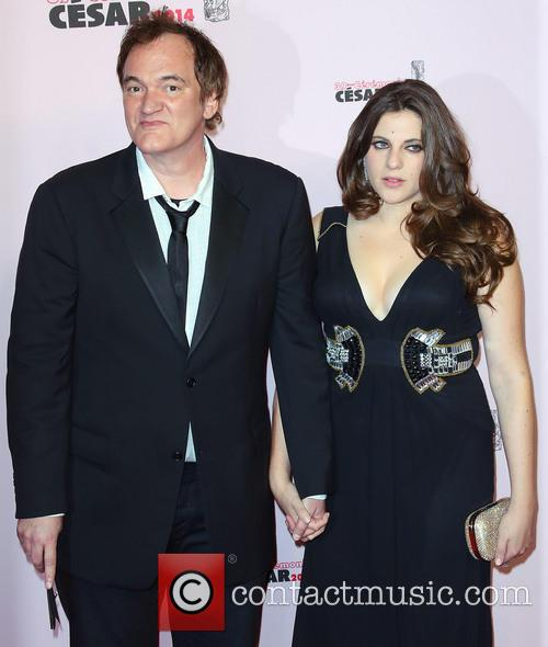Quentin Tarantino and Courtney Hoffman 1