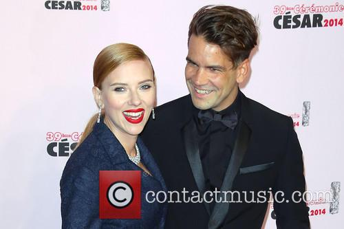 Scarlett Johansson and Romain Dauriac 2