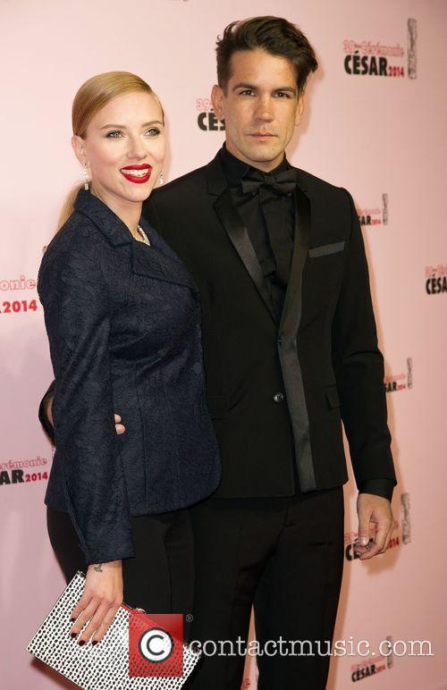 Scarlett Johansson and Romain Dauriac 3