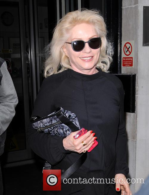 Debbie Harry of Blondie at Radio 2