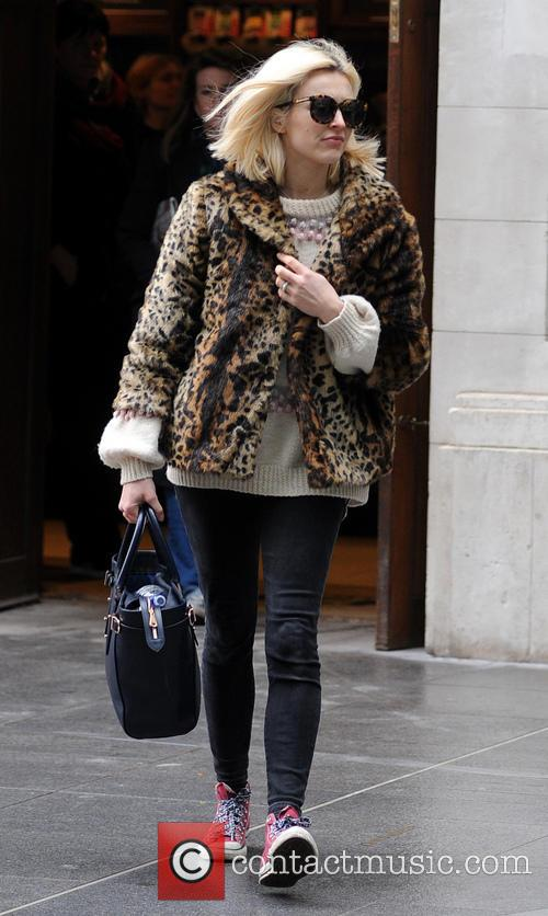 Fearne Cotton arrives at Radio 1