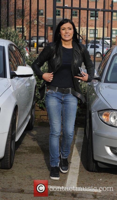 Kym Marsh Key 103 Radio Station