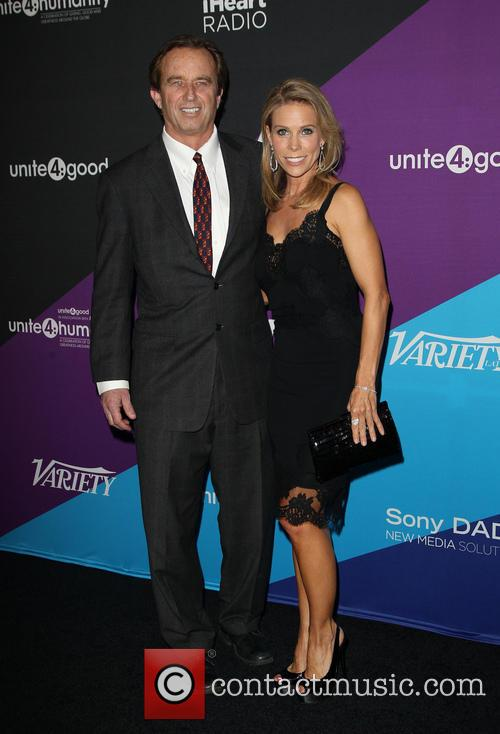 Robert F. Kennedy Jr. and Cheryl Hines 3