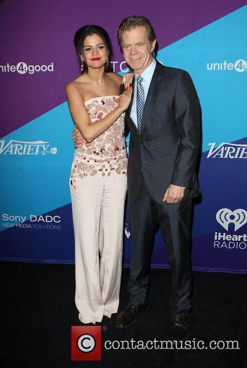 Selena Gomez and William H. Macy 4