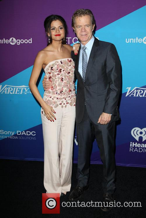 Selena Gomez and William H. Macy 7
