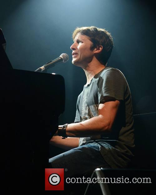James Blunt performs at Vicar Street