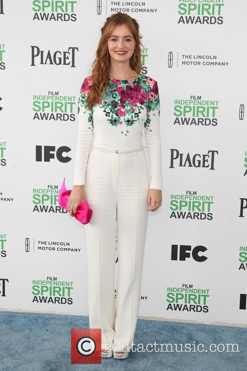 Ahna O'Reilly, Santa Monica Beach, Independent Spirit Awards