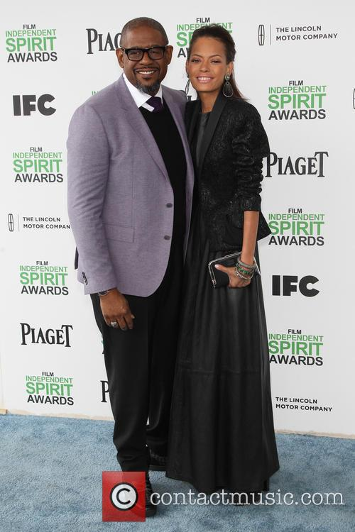 Forest Whitaker and Keisha Nash Whitaker 5