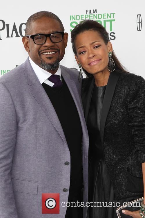 Forest Whitaker and Keisha Nash Whitaker 6