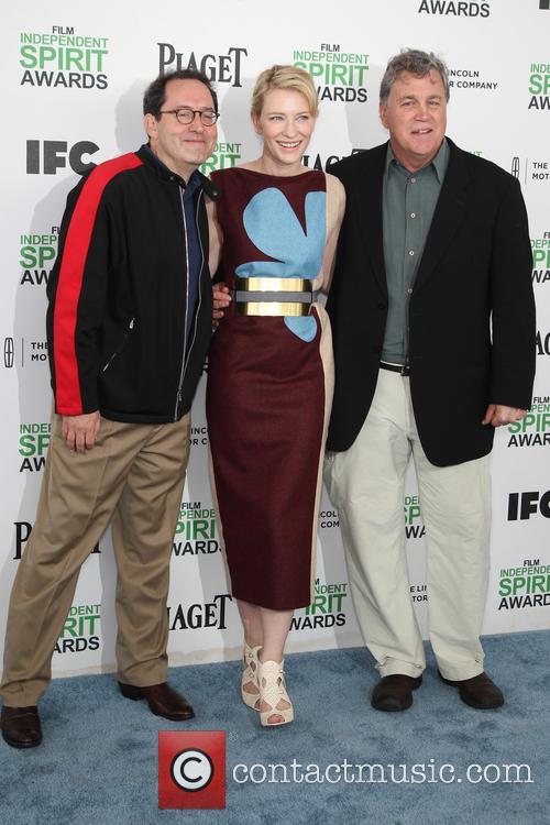 Tom Bernard, Cate Blanchett, Michael Barker, Santa Monica Beach, Independent Spirit Awards