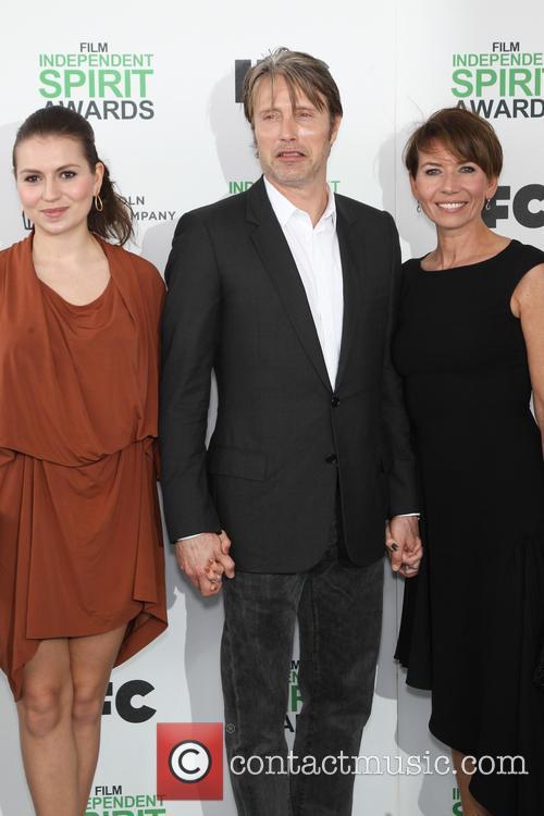 Mads Mikkelsen, Hanne Jacobsen and Viola Mikkelsen 2
