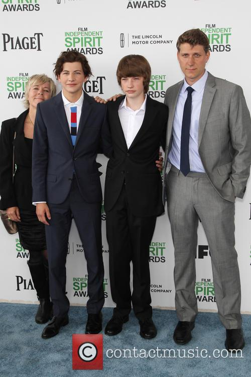 Sarah Green, Tye Sheridan, Jacob Lofland and Jeff Nichols 2