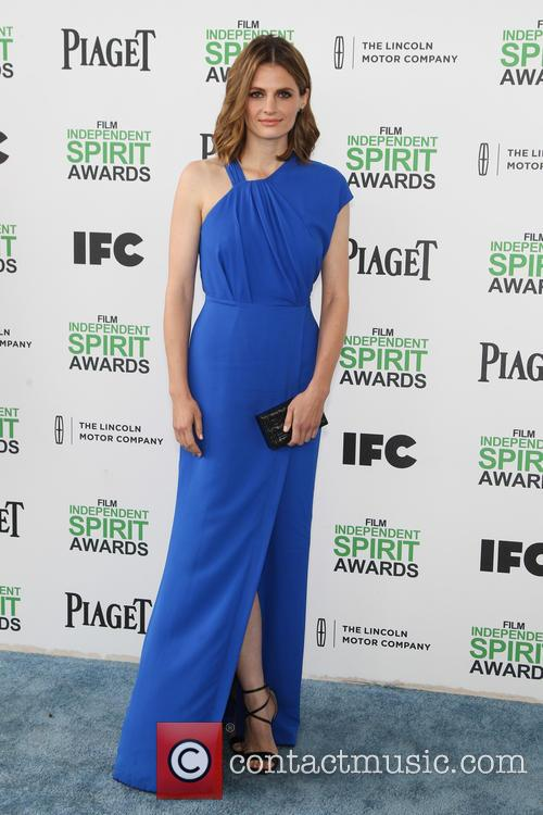 Stana Katic, Santa Monica Beach, Independent Spirit Awards