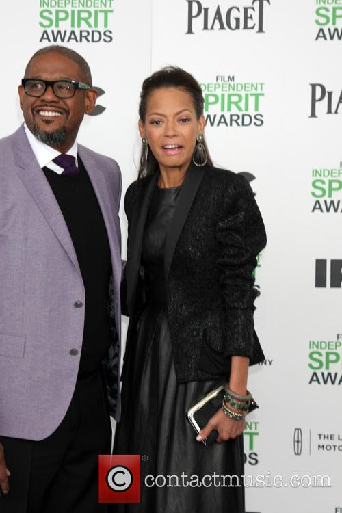 Forest Whitaker and Keisha Whitaker 1