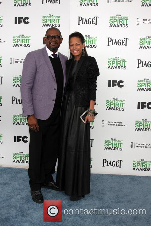 Forest Whitaker and Keisha Whitaker 2