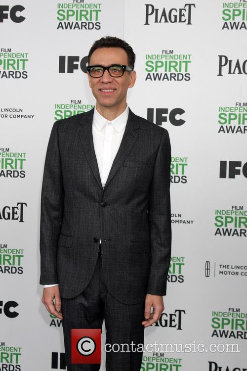 Fred Armisen, Tent at the beach, Independent Spirit Awards