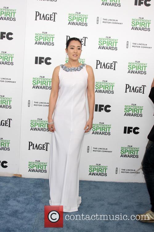 Gong Li, Tent at the beach, Independent Spirit Awards
