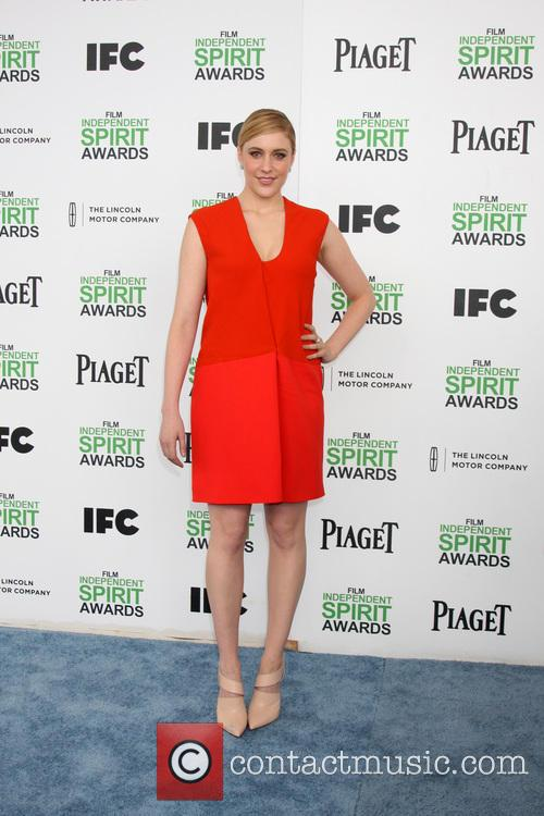 Greta Gerwig, Tent at the beach, Independent Spirit Awards