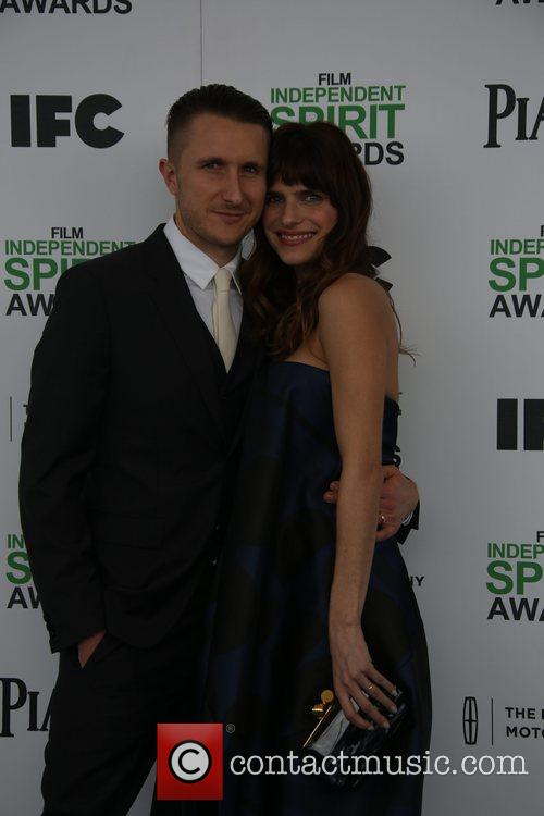 Lake Bell and Boyfriend Campbell Scott 2