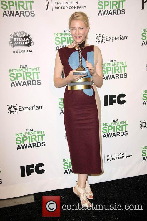 Cate Blanchett, Santa Monica Beach, Independent Spirit Awards