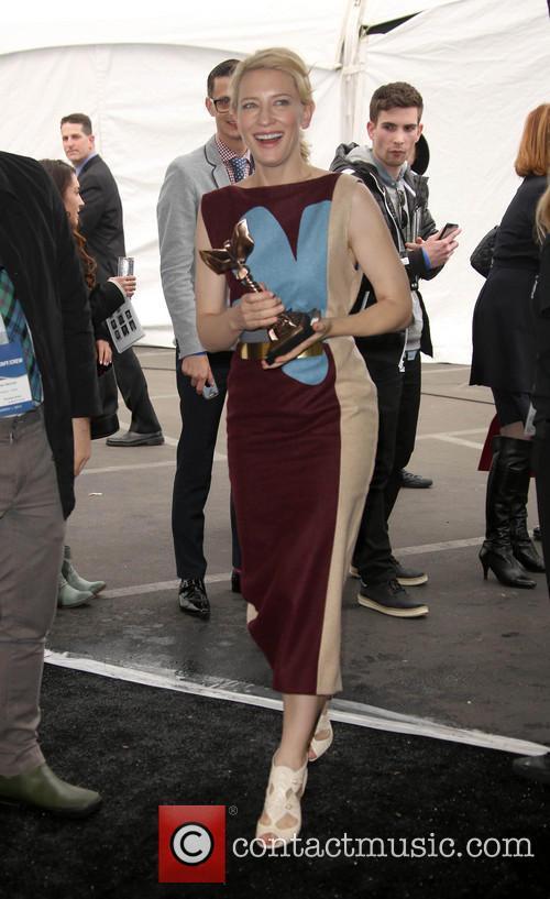 Cate Blanchett, Santa Monica Beach, Independent Spirit Awards