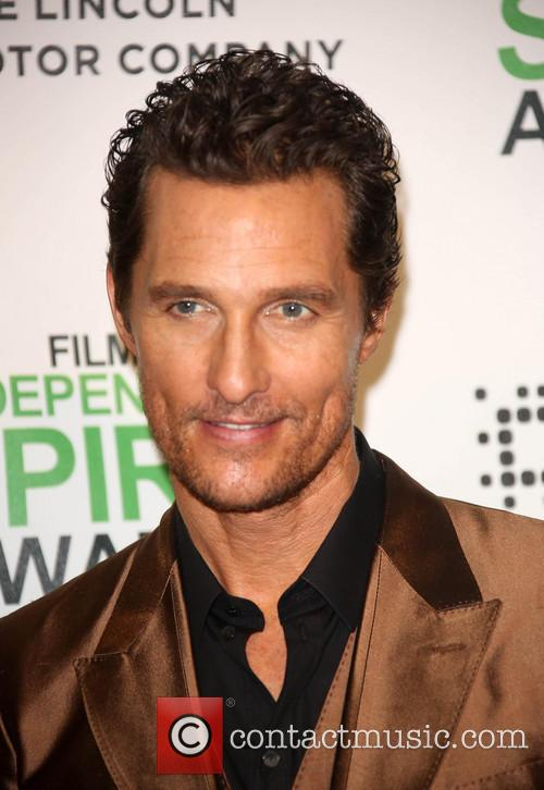 Matthew McConaughey, Santa Monica Beach, Independent Spirit Awards