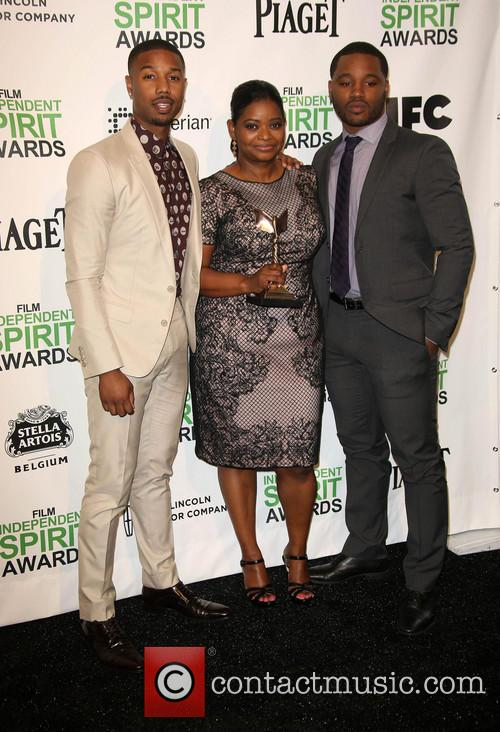 Michael B. Jordan, Octavia Spencer, Ryan Coogler, Santa Monica Beach, Independent Spirit Awards