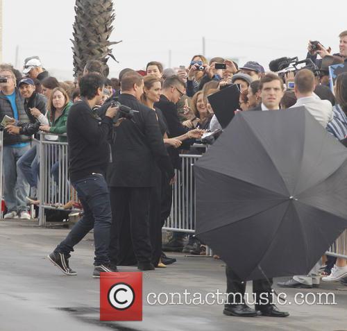 Angelina Jolie, Shutters Parking Lot, Independent Spirit Awards