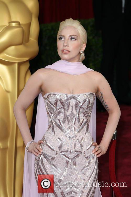 Lady Gaga at the Oscars 2014