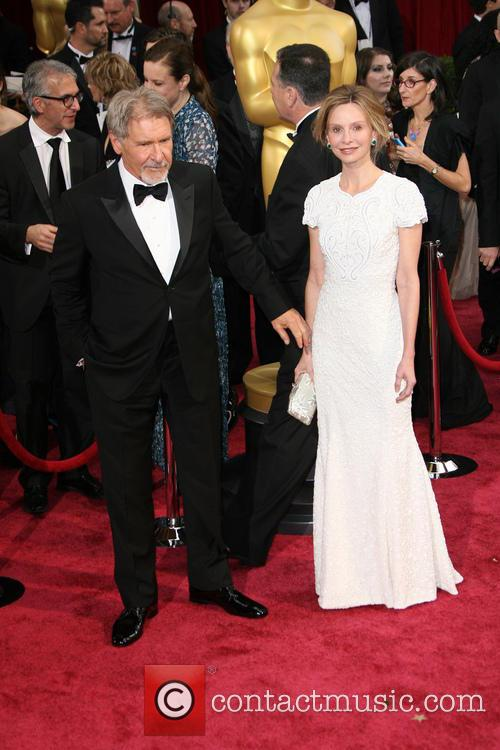 Calista Flockhart and Harrison Ford 3
