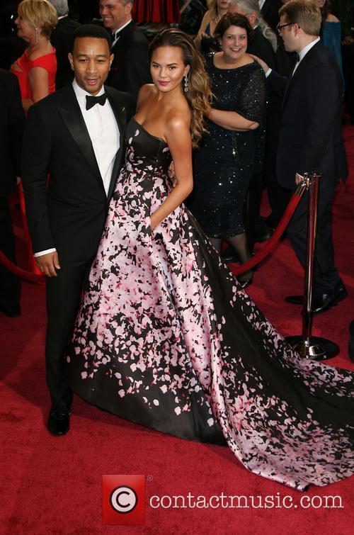 Chrissy Teigen, John Legend, Dolby Theatre, Oscars