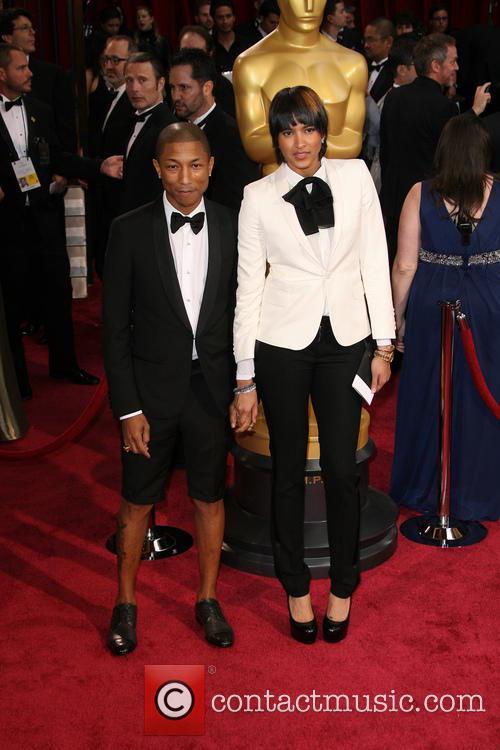 Pharrell Williams and Helen Lasichanh 4