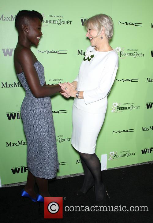 Lupita Nyong'o and Helen Mirren 4
