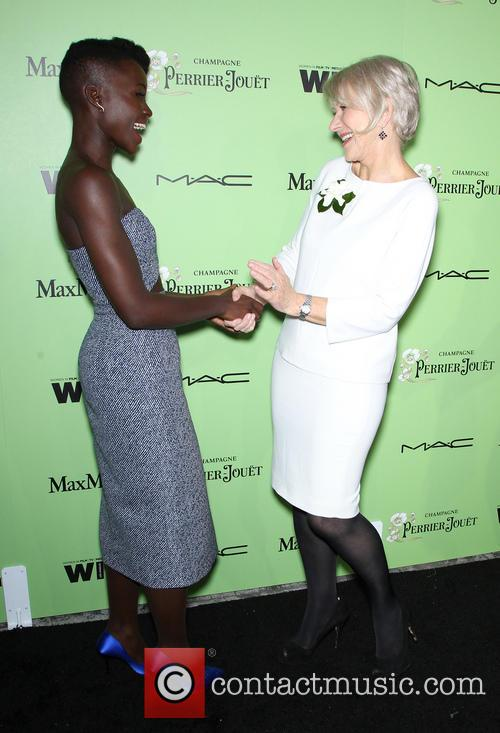 Lupita Nyong'o and Helen Mirren 7