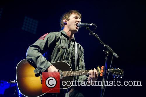 James Blunt performs live in concert