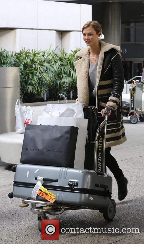 Karlie Kloss at LAX