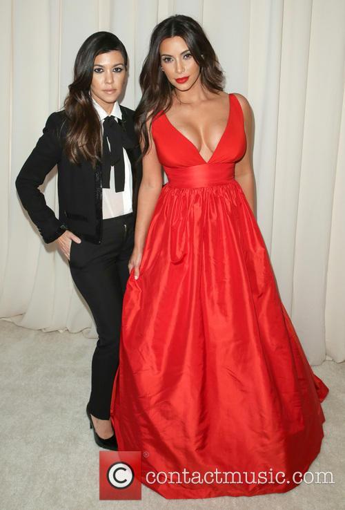 Kourtney Kardashian, Kim Kardashian, Pacific Design Center, Academy Awards
