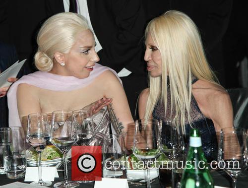 Lady Gaga and Donatella Versace 7
