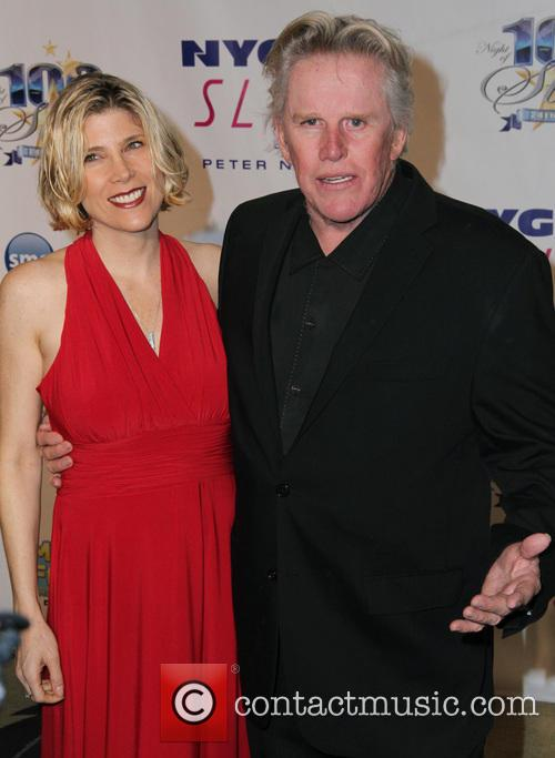Steffanie Sampson and Gary Busey