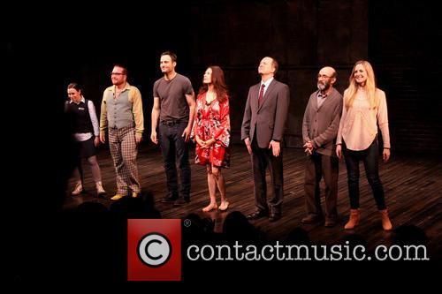 Opening Night of 'Stage Kiss' - Curtain Call