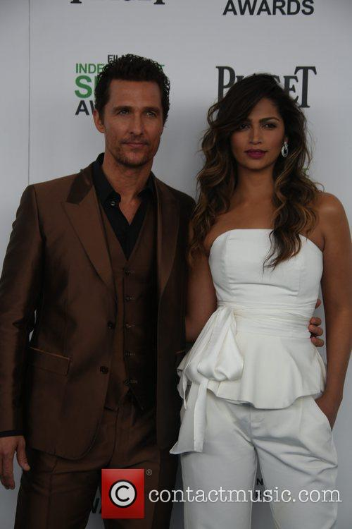 Matthew Mcconaughey and Camila Alves 1