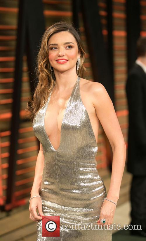 Miranda Kerr Vanity Fair Oscar Party