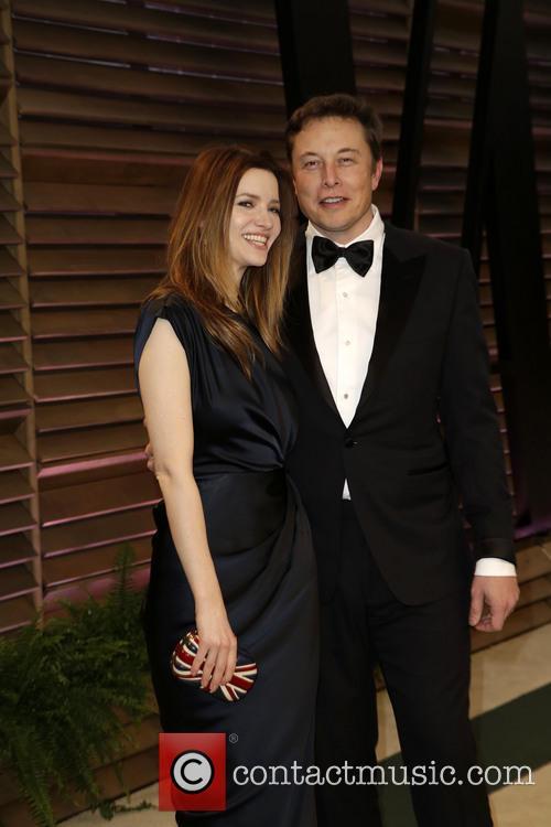 Elon Musk and Talulah Riley 1