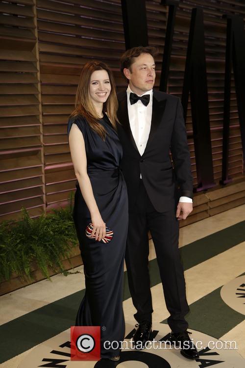Elon Musk and Talulah Riley 2