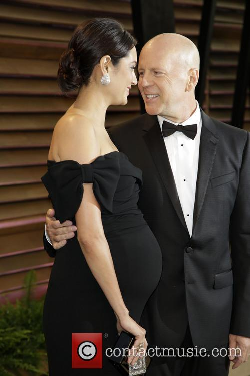 Emma Heming and Bruce Willis 4