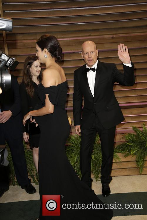 Emma Heming and Bruce Willis 6