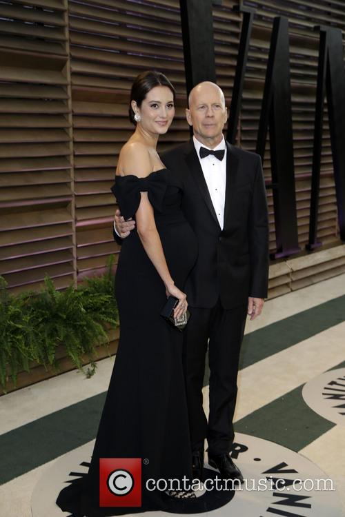 Emma Heming and Bruce Willis 7