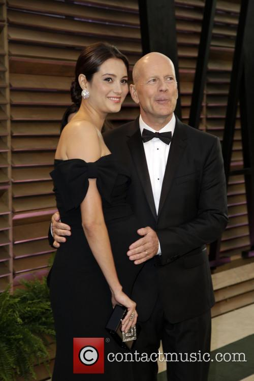 Emma Heming and Bruce Willis 8
